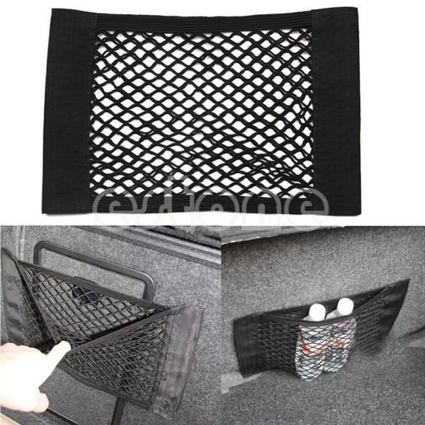 1 STÜCK Auto Zurück Hinten Kofferraum Sitz Elastische String Net Mesh Aufbewahrungstasche Tasche Käfig