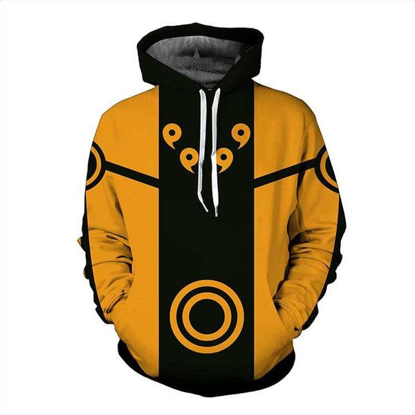 Acheter Nouveau 3D Hoodie Naruto Hommes Anime Vêtements Femmes Sweat À Capuche Sweats À Capuche Pour Hommes 3d Plus La Taille 5XL Drop Shipping De