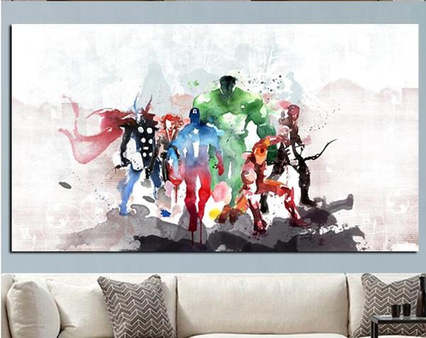 Pop Running White Horse Tierlandschaft Ölgemälde Druck Auf Leinwand Moderne  Picute Wandkunst Kunstwerk Für Wohnzimmer Cuadros