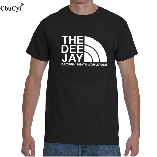 The Dee Jay T Shirt Classic Hip Hop Clothing Dj Music Graphic Printing Tshirt Men 2018 Fashion Short Sleeve T-shirt Size S - Xxl