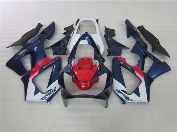 Carenados 7gifts para Honda CBR900RR CBR929 2000 2001 blanco azul rojo carenado kit CBR929RR00 01 DF52