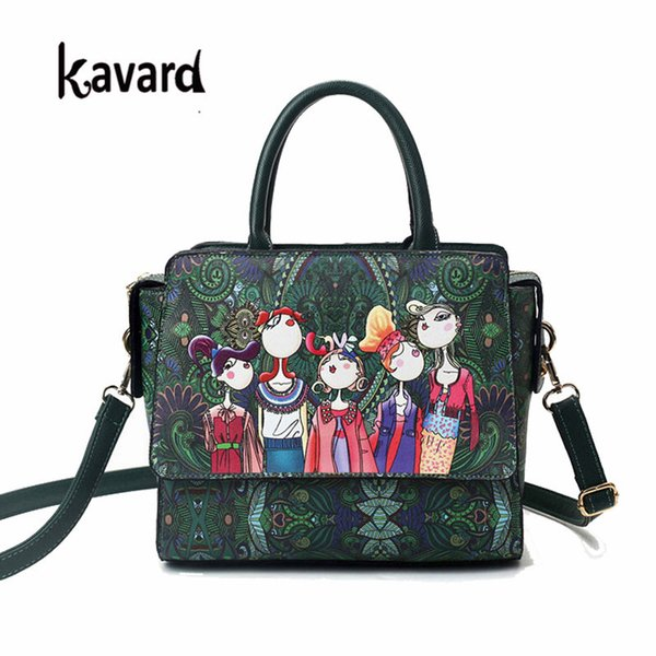 Famous brand kavard Forest green bags crossbody bag for Women Bag cheap Designer Handbag lady hand bag Sac a main femme de marque
