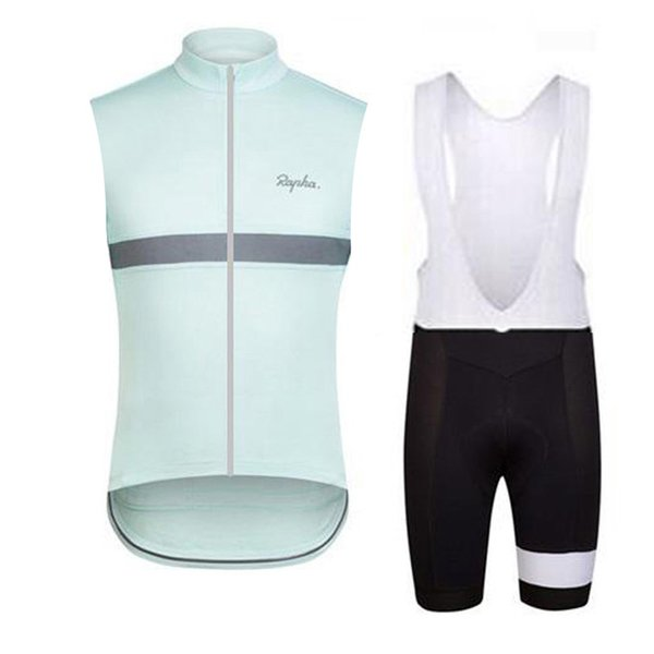 Vest bib shorts sets