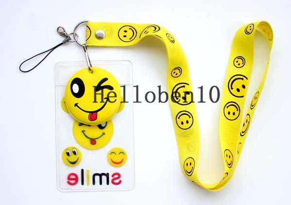 New ! 10 cell phone shells with key chains and cartoon patterns on them. The more you buy, the cheaper it is.
