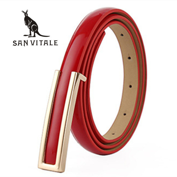 Belt For Women Belts Genuine Leather Ratchet Straps Gift Clothing Cheap Accessories Apparel Waist Summer Woman Black Stretch S18101806
