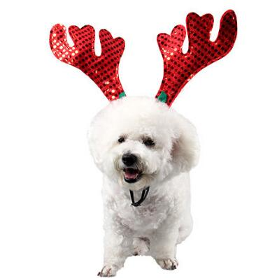 christmas costumes for cats promo codes pet christmas hair ornaments dog cat christmas elk head
