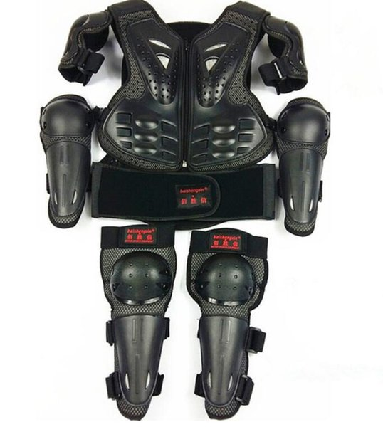 SX081 Motorcycle Protector Children's Armor child armour protective suit anti-fall knee protector elbow