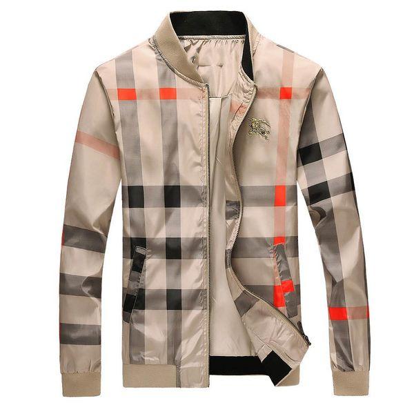 18 fa hion men 039 port wear late t floral letter pattern zipper men 039 medu a ca ual jacket luxury jacket men 039 zipper m 3xl, Black;brown