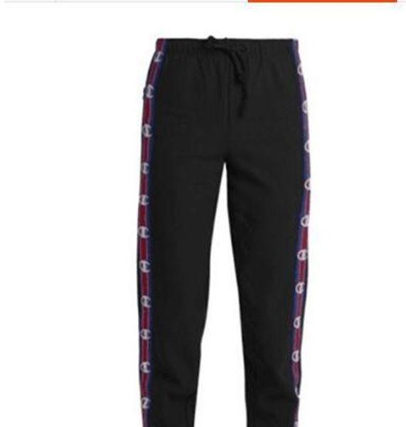 men ans women joggers pants hip hop design vetements unisex lovers sweatpants casual mens jumpsuit black white blue