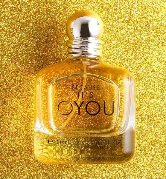 Profumo d'oro 100ml nuovo profumo di lusso delle migliori donne di lusso 100 ml fragranza del fiore odore di qualità lunga durata consegna gratuita