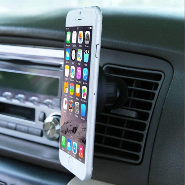 Evrensel Araba Dört Pençe Top Mıknatıs Telefon Tutucu Hava-Çıkışında Yüklemek Pratik Araba Iç Montaj Desteği