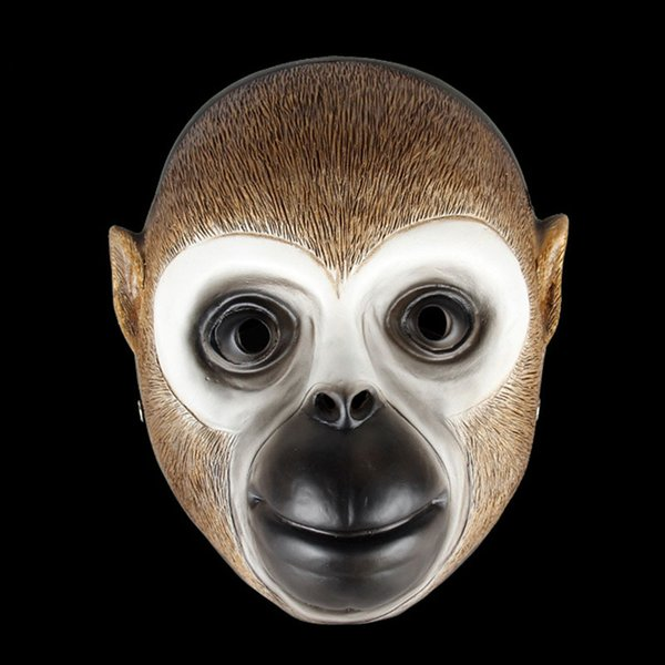 Horror Halloween Harvest Day 2 Game Theme Monkey Payday Mask Rare Wall Hanging Decoration Dance Party Resin Mask Camouflage Prop