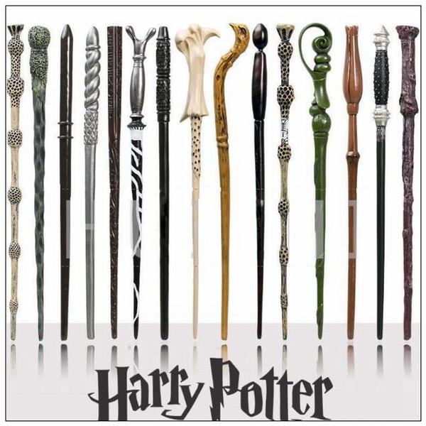 41 Styles Harry Potter Wand Magic Props Hogwarts Harry Potter Series Magic Wand Harry Potter Magical Wand With Gift Box CCA9102 300pcs