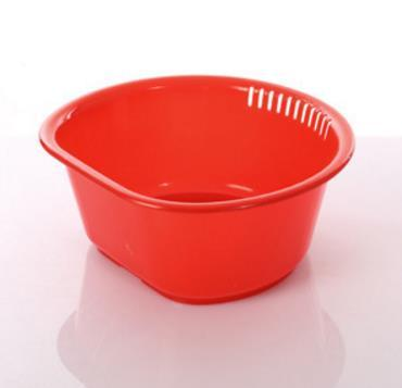 Thickened Plastic Washbasin Durable Household Bathroom Basin Household Daily Washing Vegetable and Fruit