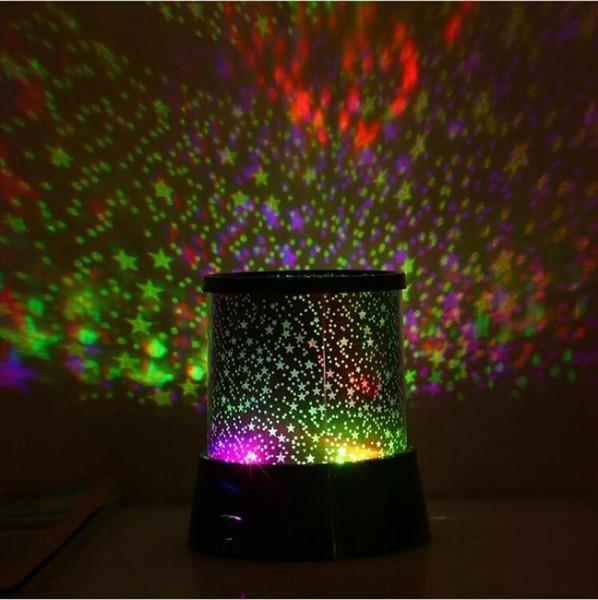 Светодиодные звезды проектор свет романтический световой звездное небо ночь лампы круглые пластиковые мини Проекционные огни высокое качество 3 7 мс ff