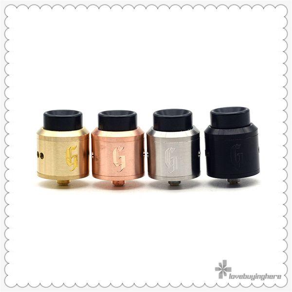 Goon 25 RDA by 528 Custom Vapes Goon V1 Style Airflow Holes 1: 1 Clone Best E-Cigarette 25mm Diameter Vape RDA Atomizer