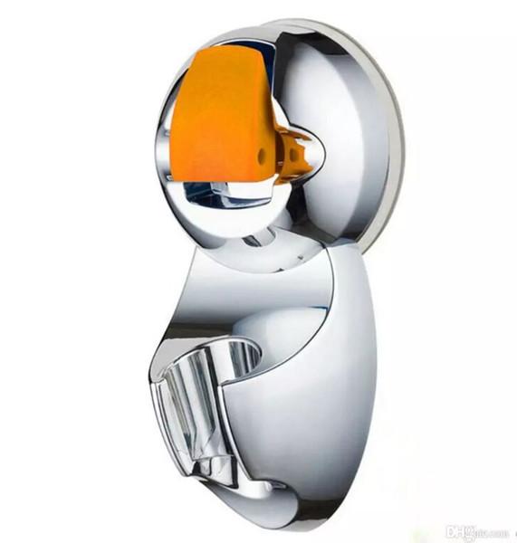 top popular Super Powerful Adjustable Sucker Shower Head Stand Stander Bracket Holder For Bathroom 2021
