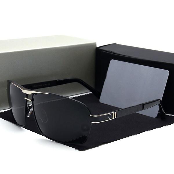 Mode Männer HD Polarisierte Sonnenbrille Marke Mercedes brillen Brillen lentes de sol mujer Fahren Gläser Oculos De Sol 722