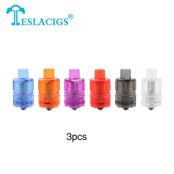 3pcs Tesla ONE Disposable Subohm Tank 3ml E cig Atomizers Massive cloud with 3ml capacity Disposable Tank