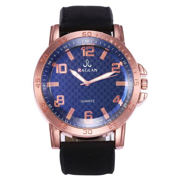 New Men's Sports Military Alloy Case Large Dial Watch Digital Belt Quartz Watch Men's
