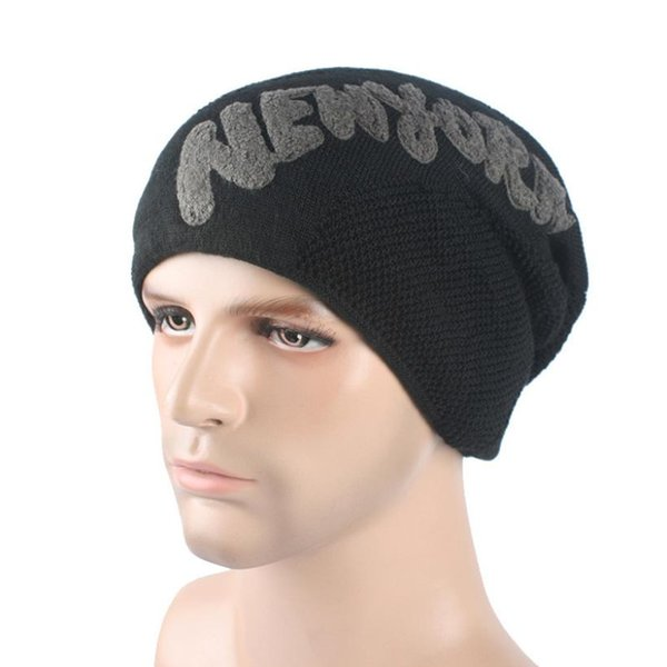 Compre Invierno Unisex Mujeres Hombres Knit Ski Crochet Slouch Hat ...