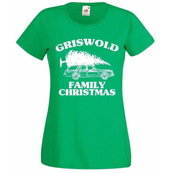 T-shirt das senhoras do Natal da família de Griswold, férias do Natal - todos os tamanhos