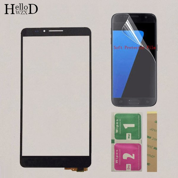6'' Mobile Touch Screen Sensor Panel Digitizer Assembly For Huawei Ascend Mate 7 MT7-TL10 Touch Screen Protector Film