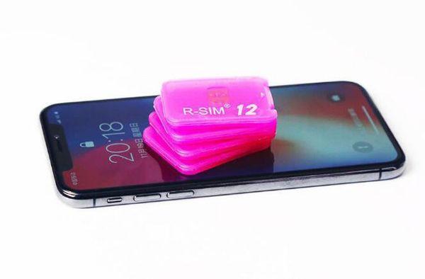Rsim 12+ r sim 12+ RSIM12+ iphone unlock card for iPhone 8 iPhone 7 plus and i6 unlocked iOS 11.x-7.x 4G CDMA GSM WCDMA SB AU SPRINT
