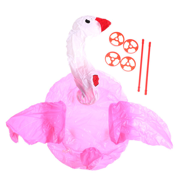 Balão de PVC Balão De Plástico, Kids Birthday Party Decor Brinquedos Inflável Avião Dos Desenhos Animados Cavalo Swan Plane Toy