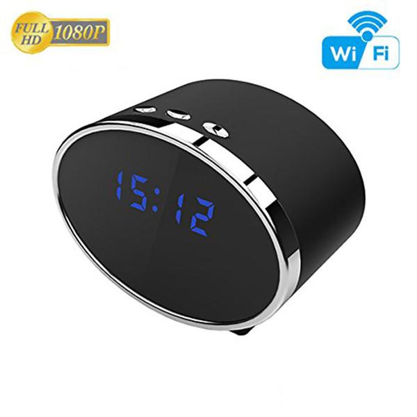 Wi-fi камера 1080P часы Camera12Hour система беспроводной мини-камера с обнаружением движения/ночного видения Главная камеры безопасности няня IP-камера