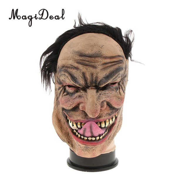 Halloween Scary Mask Wretched Man Mask Cosplay Masquerade Party Decor Puntelli
