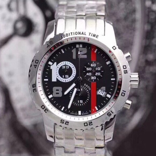 design di qualità a36d0 7a127 AAA Luxury Men Watches Top Brand Japan Quartz Movement James Bond 007  Stainless Steels Male Clock Sport Watch Orologio Di Lusso Wristwatches  Watch ...