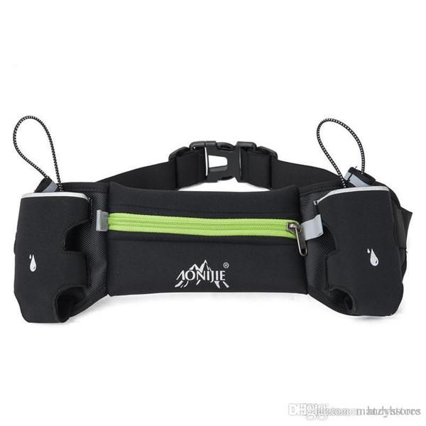 Al por mayor-antirrobo Slim Funcionamiento del teléfono celular Pecho Cintura Fanny Bolsa Deportes Correr Bolsa Bolsa de cintura resistente para ciclismo Escalada Camping