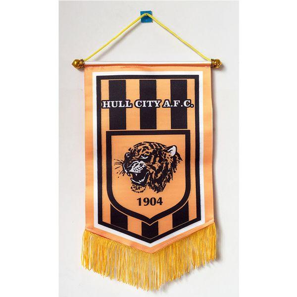 Flag of England Hull City AFC Handing flag 30cm 20cm Size Decoration flag  banner for home   garden Festive cf1ec7af1