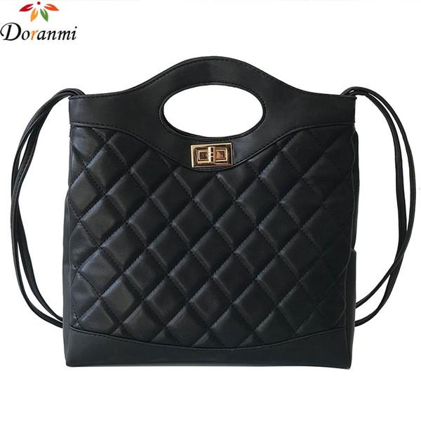 DORANMI Classic Diamond Lattice Handbag Bags For Women 2018 Chic Clutch Large Handbags Female Crossbody Shoulder Bag DJB910