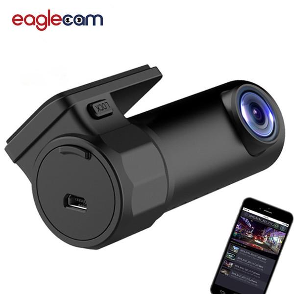 Dash Cam WIFI Voiture DVR Caméra Numérique Enregistreur Vidéo DashCam Road Caméscope APP Moniteur Vision Nocturne Sans Fil DVR