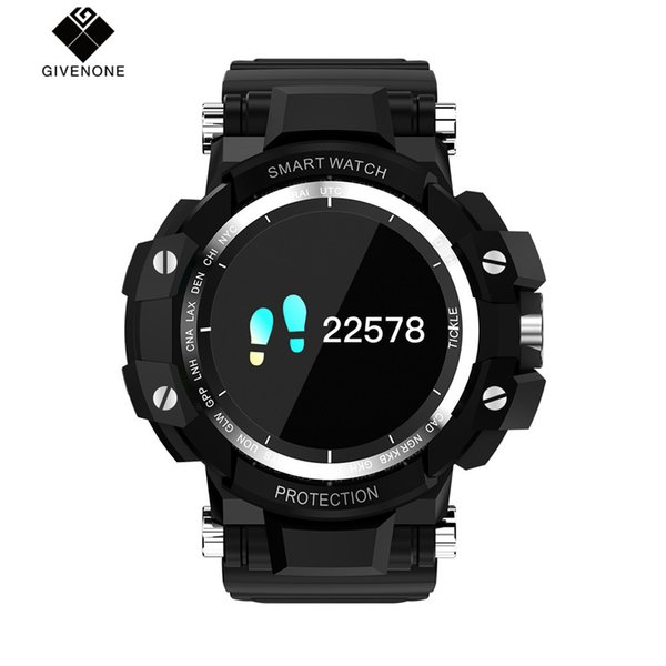 GIVENONE GW68 Smart Watch Long Stand-by Time Sleep/Heart Rate Monitor Remote Camera Anti-lost Android 4.0 Smart Bracelet
