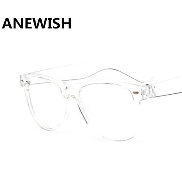 5d56c9f51f Fashion Women s Glasses Transparent Square Frames Retro Female Eyeglasses  Men s Optics Computer Eyewear oculos de grau femininos