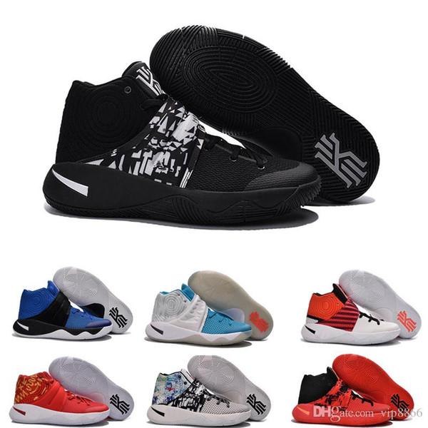 b55434c8c4ff ... shop sell high quality kyrie irving shoes men basketball shoes retro kyrie  2 bright crimson tie