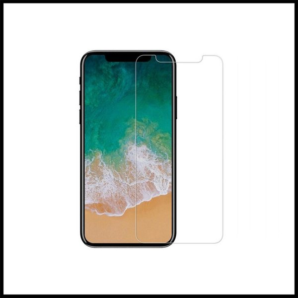 For iPhone XS Max XR 9H Screen Protectors Glass Membrane For iPhone X 6 7 8 Full Screen