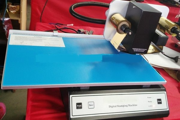 CE and SGS digital foil stamping printer on the roll-ADL-3050A foil hot stamping Digital Machine cut Aluminum