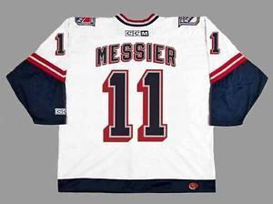 Hommes, Femmes, Enfants-MARK MESSIER New York Rangers CCM MN Liberty Personnalisé N'importe quel NomNon. Hockey Personnalisé MaillotsGoalit Coupe Maillots