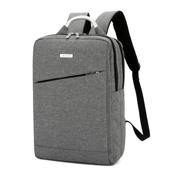 Plain Business Travel Backpack Waterproof Nylon Laptop Notebook Computer Backpack Rucksack for Men Womens Boys Girls