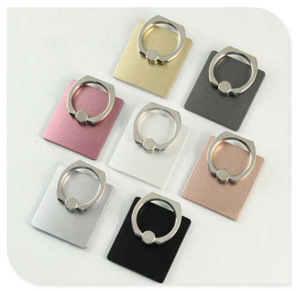Cell Phone Back Holder Metal Stand Universal Phone Ring Mount 7 Colors Cheap Price without Retail Package