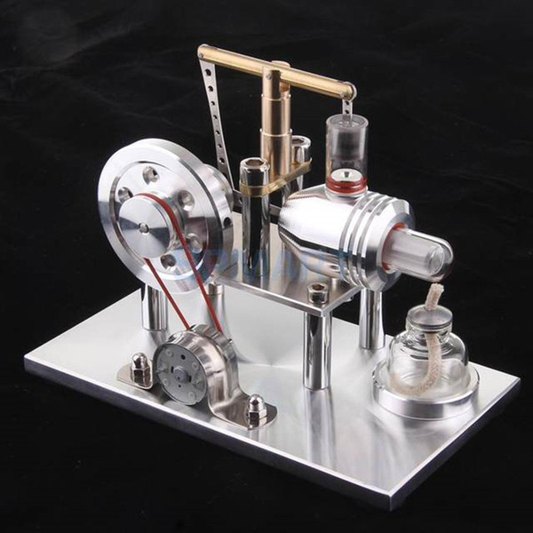 2018 Limited Hot Sale 1:50 Metal Model Modelbouw Sterling Engine Physics Teaching Power Steam Hobby Collection Adult Gift Toys