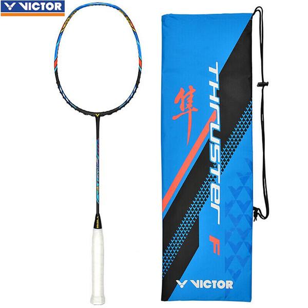 Genuine Victor Tai Tzu Ying TK F professional badminton racket offensive Raquette De Badminton sport rackets