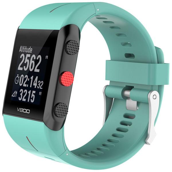 Gelişmiş Akıllı İzle Starp POLAR V800 Için yedek Silikon Kauçuk Watch Band Bilek Kayışı ücretsiz kargo