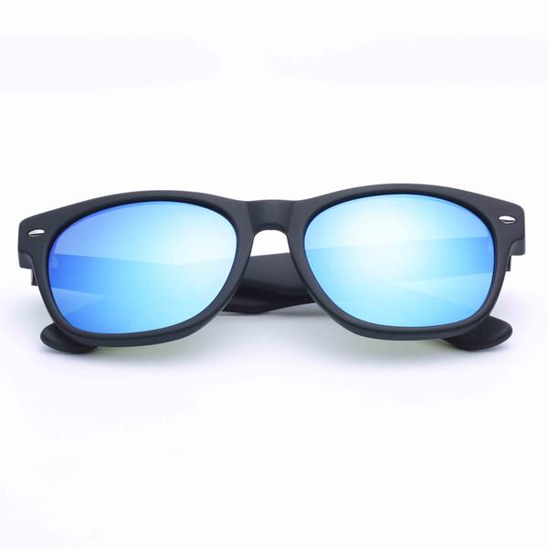 Noir mat - Bleu