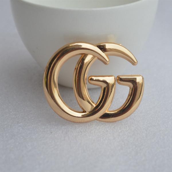 Lusso lettera squisita G spilla per le donne dichiarazione moda spille pin vestiti accessori gioielli regalo dropshipping