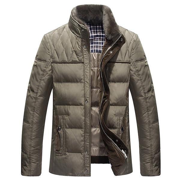 Novo 2018 Homens Casaco de Inverno Roupas de Fábrica-Direct-Roupas de Moda Homens Casaco Jaqueta Parkas Dos Homens Para Baixo Parka Puffer Jacket 3XL